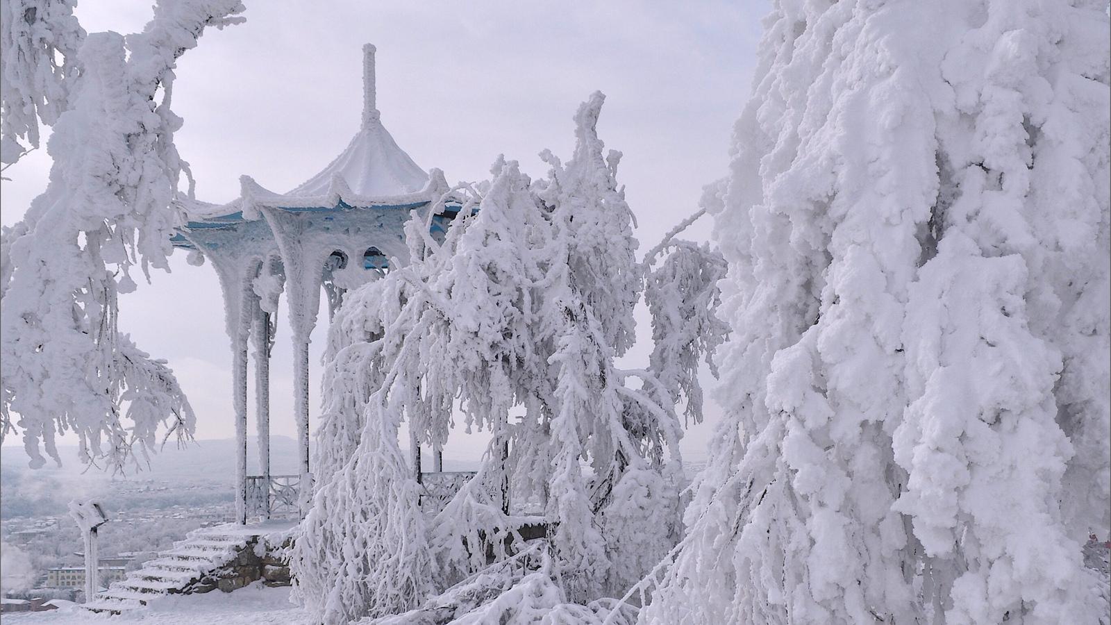 Зимний Пятигорск