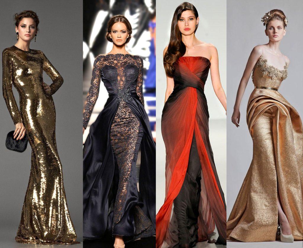 цвета платьев