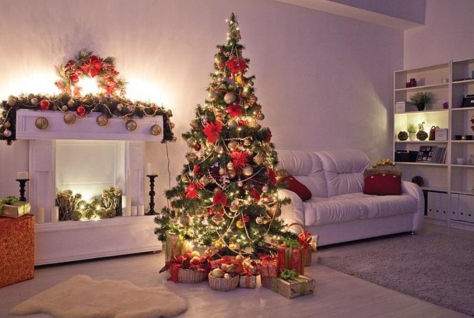 красивая новогодняя елка