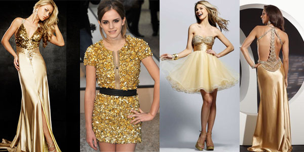 платье и аксессуары